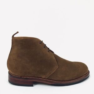 Grenson Wendell Brown Chukka Suede Ankle Boots